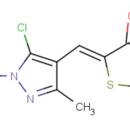 5-Z-5-chloro-1-3-dimethyl-1H-pyrazol-4-yl-methylidene-1-3-thiazolane-2-4-dione-Key-Organics-MS-2643-1MG
