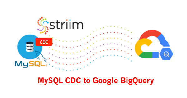 MySQL to Google BigQuery using CDC