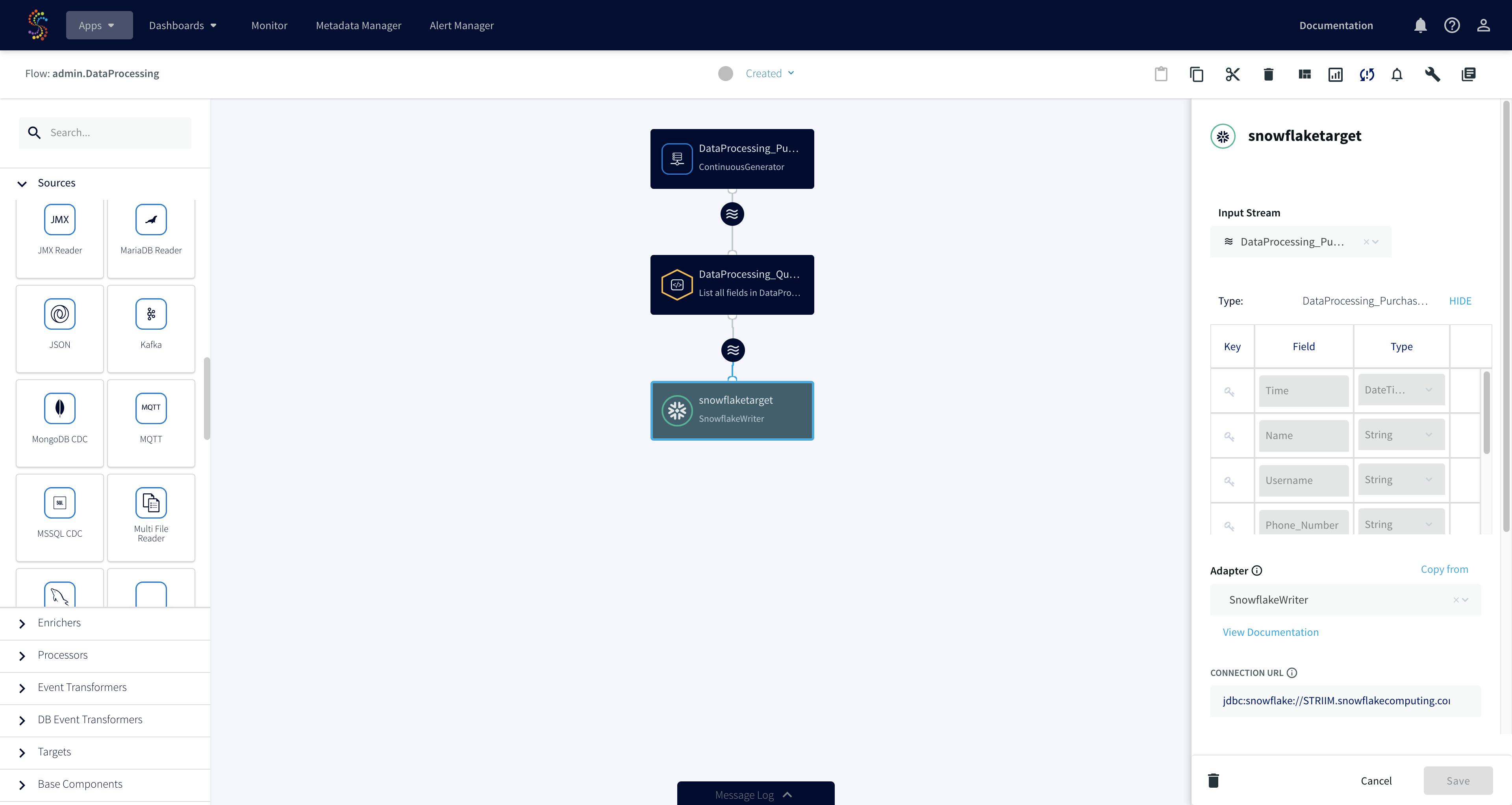 4.0 flow designer screenshot