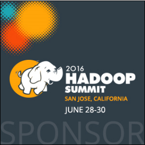 Striim is a proud sponsor at Hadoop Summit San Jose 2016