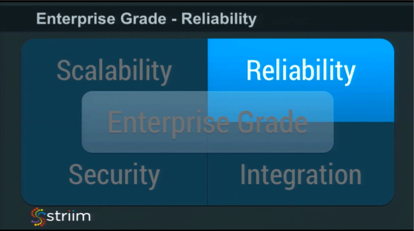 IMC Summit 2016 Breakout - Making IMC Enterprise Grade - Reliability