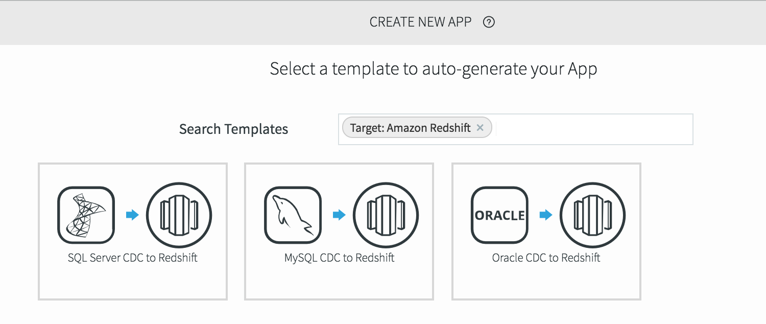 Striim for Amazon Redshift