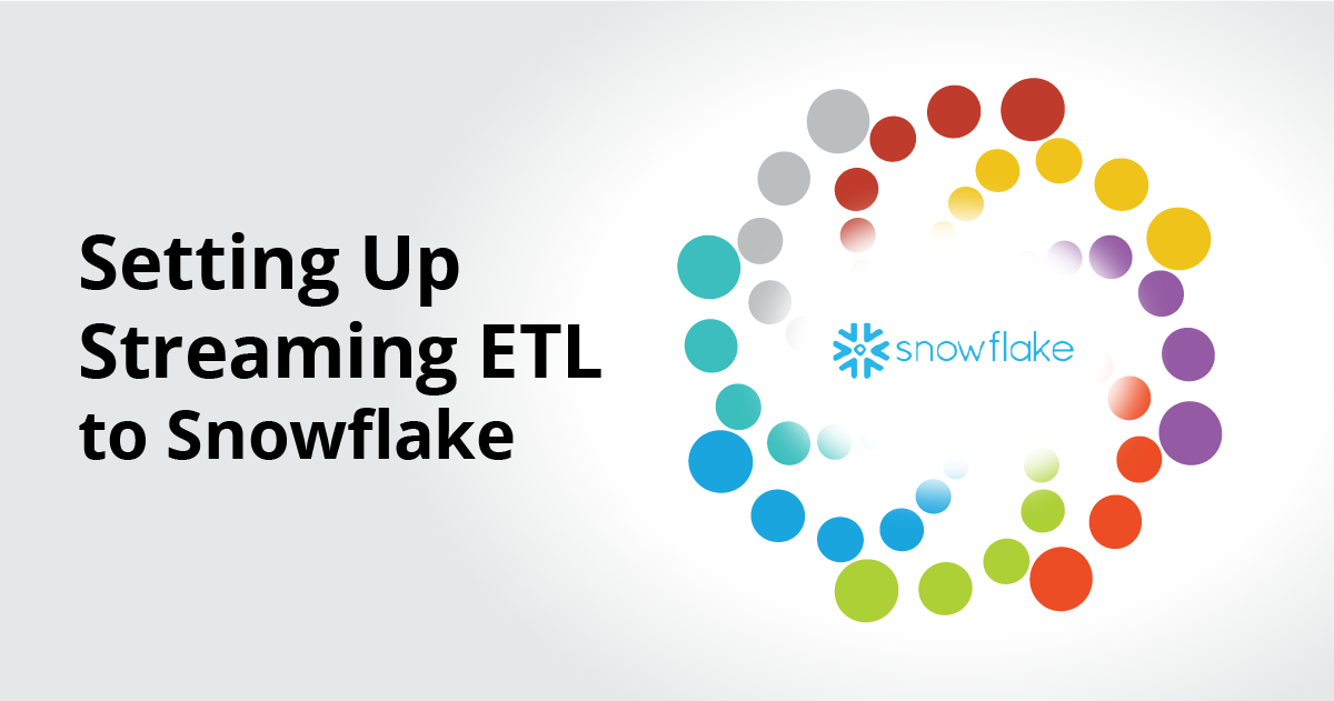 Streaming ETL to Snowflake
