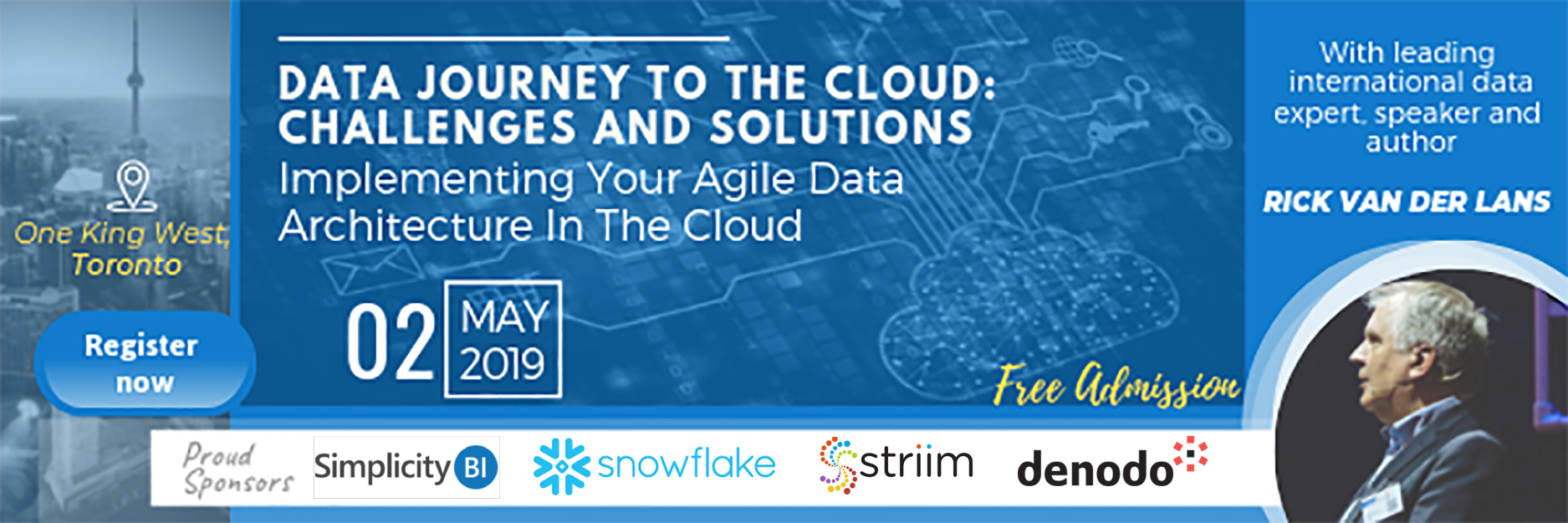 SimplicityBI Toronto – Data Journey to the Cloud: Challenges and Solutions