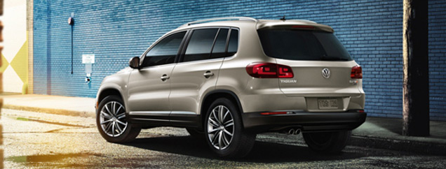 VW Tiguan: Zero Down Lease Special