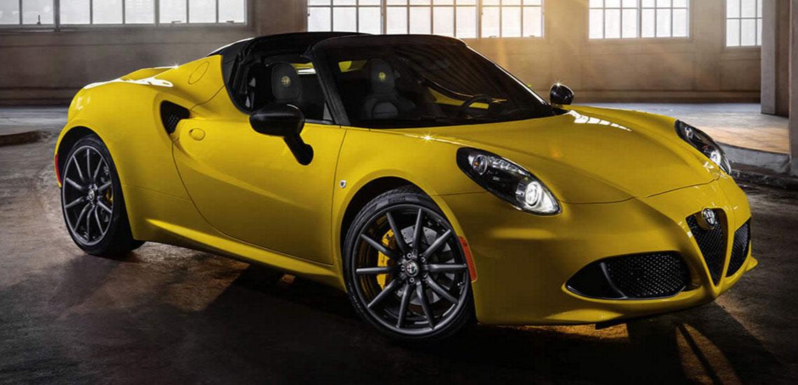 ALFA ROMEO C Studio Motors - Alfa romeo 4c leasing