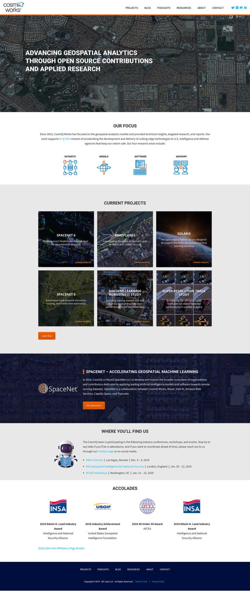Cosmiqworks Web Design Projects Studio 22 Design