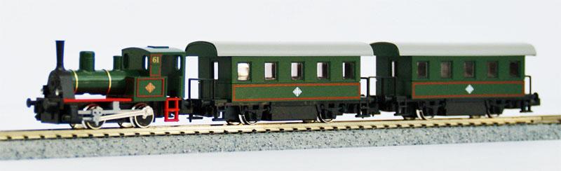 Kato 10-500-1 Steam Locomotive Train Set (Pocket Line) (N scale) MWM