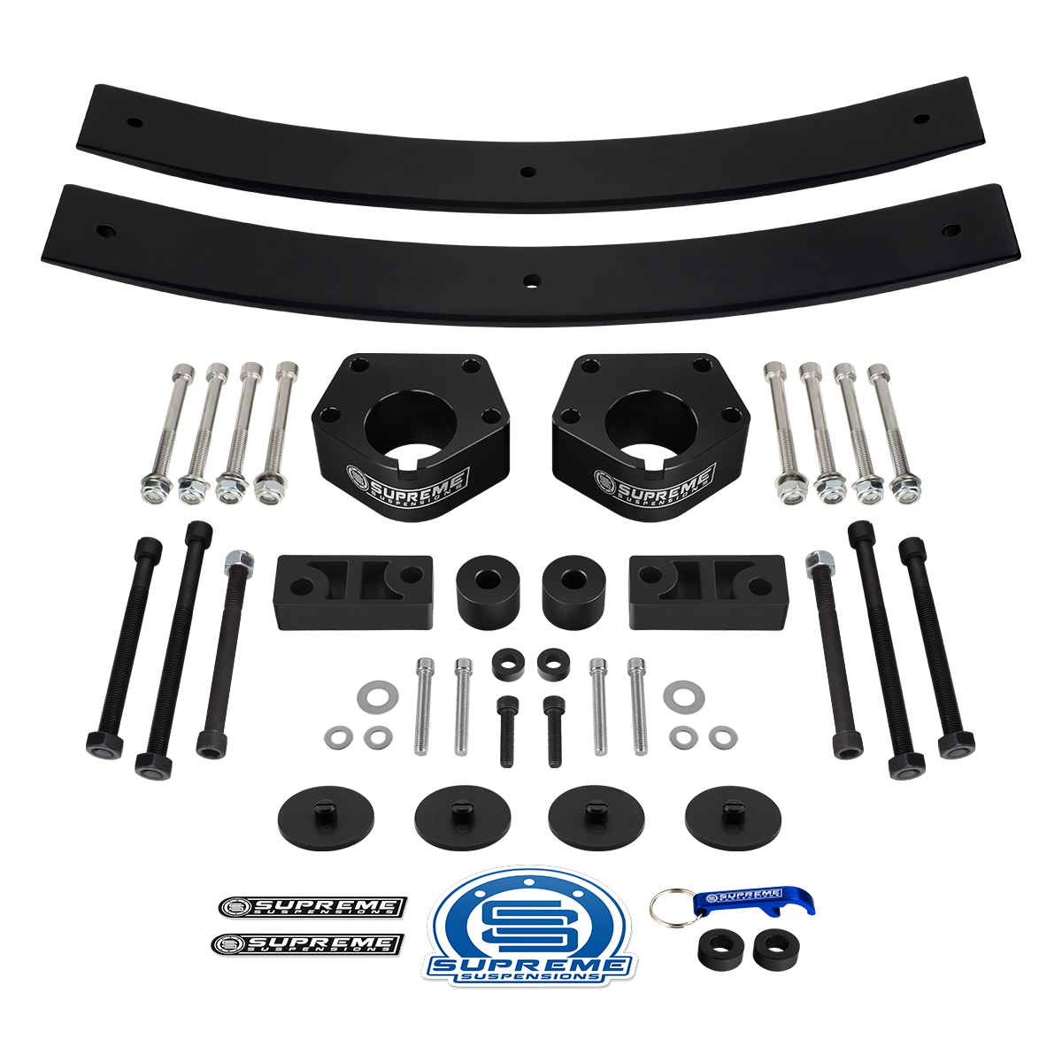 "Sway Bar Drop For 86-95 Toyota IFS Pickup 2.5/"" 1.5/"" Lift Kit 4WD w// Shocks"