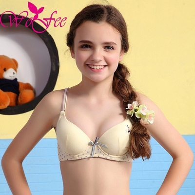 KaQI Young Girl Shaping Bra Small Adjustable Thin Cups