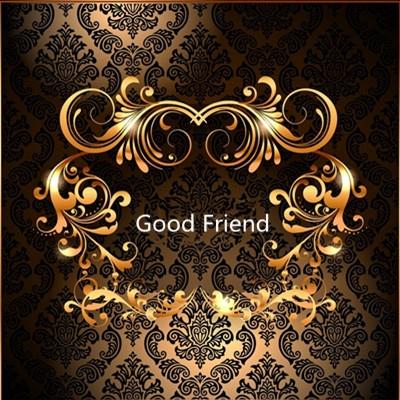 Beautiful good friend