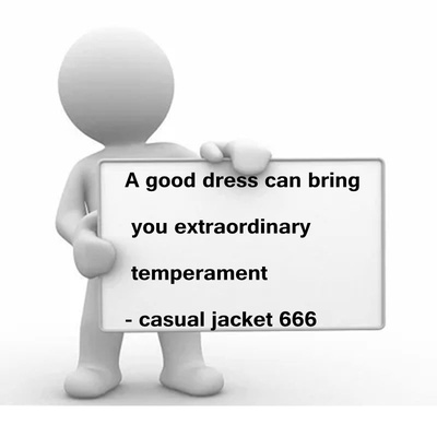 Casual jacket 666