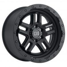 BLACK RHINO BARSTOW 20x9.5 5/150 ET12 CB110.1 TEXTURED MATTE BLACK