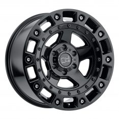 BLACK RHINO CINCO 20x9.5 5/150 ET12 CB110.1 GLOSS BLACK W/STAINLESS BOLT