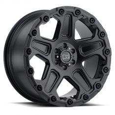 BLACK RHINO COG 20x9.5 5/150 ET12 CB110.1 MATTE BLACK
