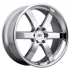 BLACK RHINO PONDORA 24x10.0 6/139.7 ET25 CB112.1 CHROME