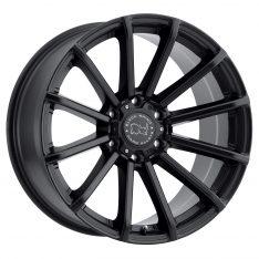 BLACK RHINO ROTORUA 20x9.5 6/139.7 ET12 CB112.1 GLOSS BLACK