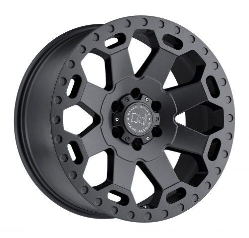 BLACK RHINO WARLORD 22x10.0 6/139.7 ET12 CB112.1 MATTE GUNMETAL