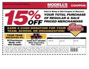 modells coupon