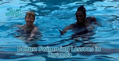 swimming in Rawanda
