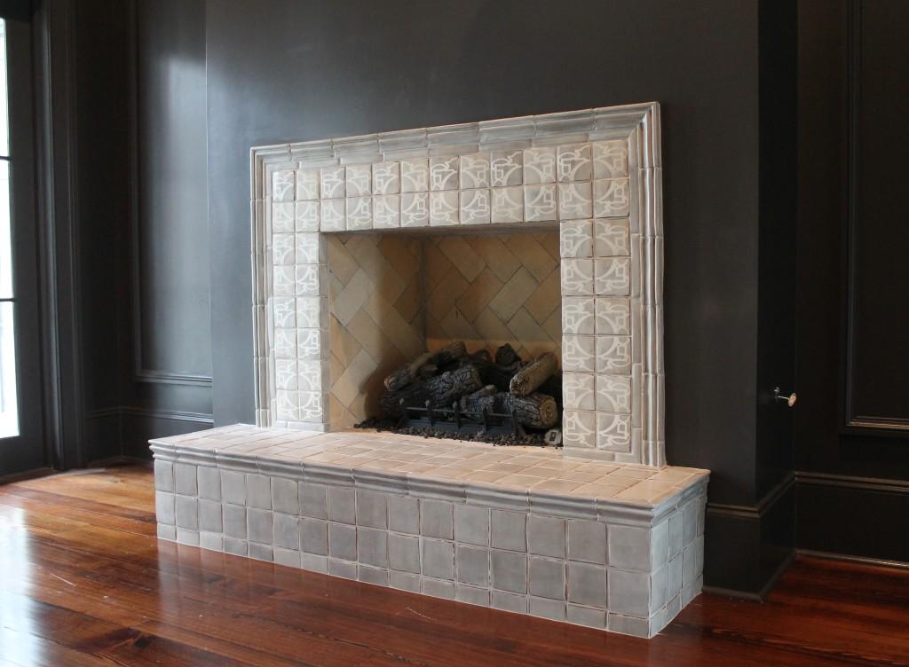 Tile Fireplace Mantels Tabarka Studio