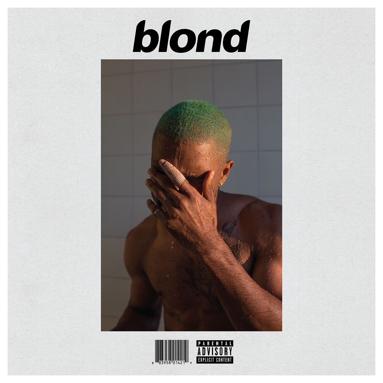 Frank Ocean Blonde Album Cover