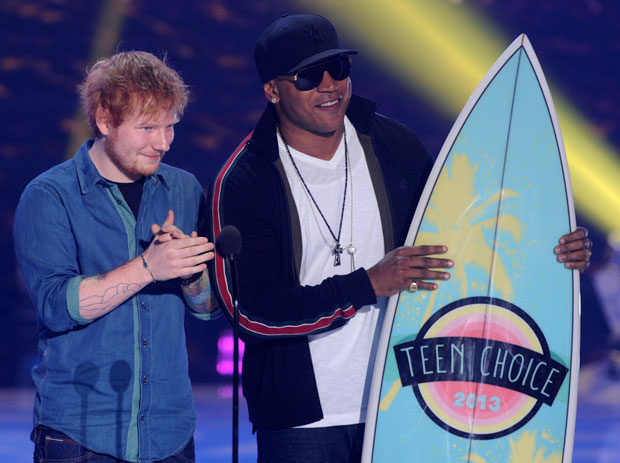 Teen choice awards on FOX 2013