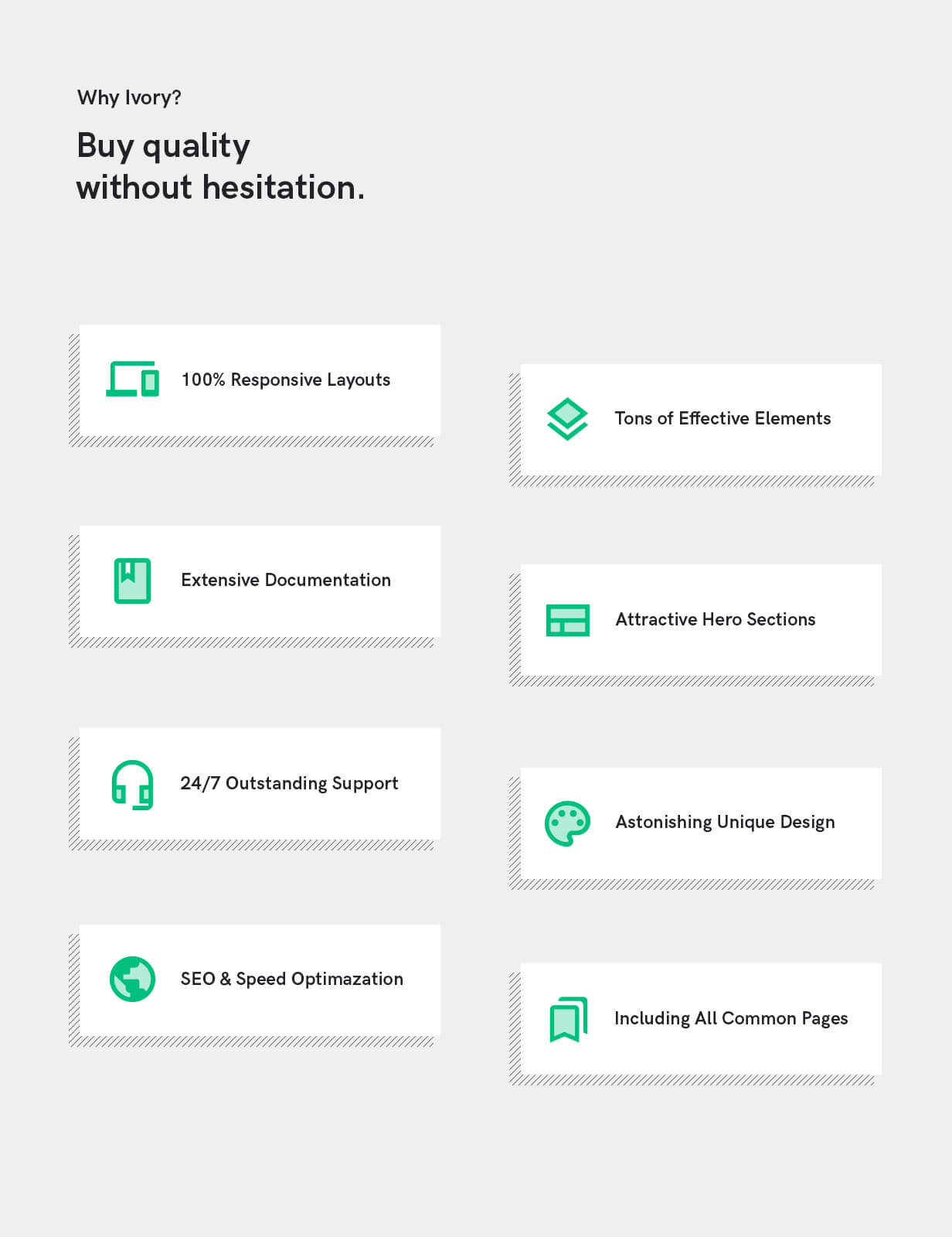 Why Ivory's HTML5 template
