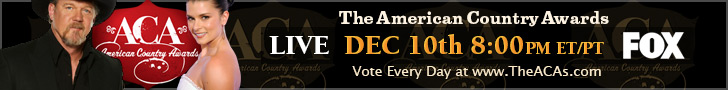 The ACAs December 10th 8-10PM ET on FOX
