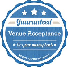 seal of venue acceptance graphic