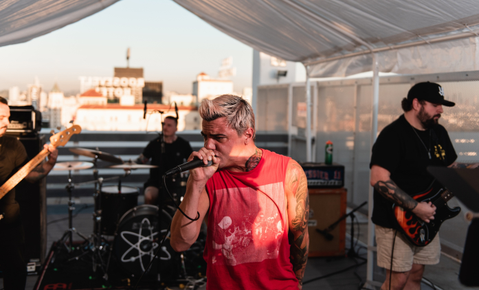 "Watch Stray From The Path's Live Rooftop Performance of ""Kickback"" and ""Second Death"""