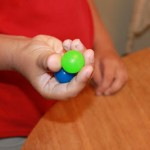 Bouncy Ball Hand Skills