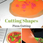 Scissor Cutting Shapes: Pizza