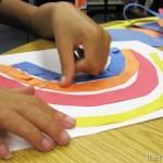 Paper Rainbow Mosaic
