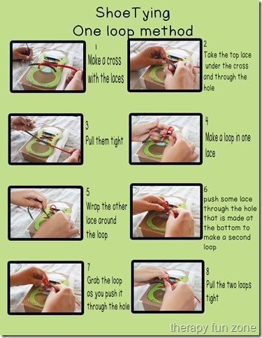 shoe tying one loop method copy