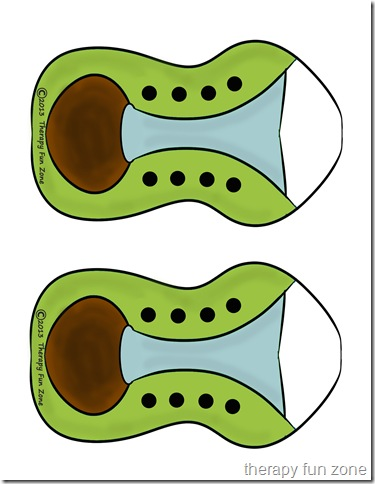 shoe tying template