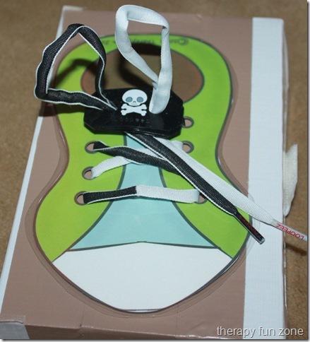 shoe tying with loopeez 1