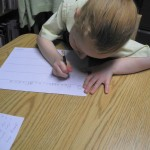 Handwriting depends upon a solid base of support!