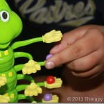 Scatterpillar Scramble: A Fun Game for fine motor skills