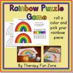 Rainbow Puzzle game