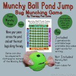 Pond Jump Fine Motor Game With Munchy Ball