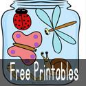 free printables button