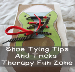 Shoe tying tips and tricks
