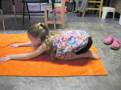 Yoga works on the same endurance skills as an ADL!
