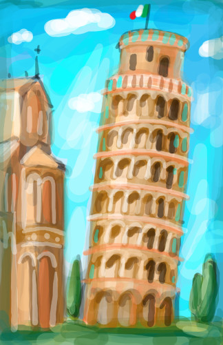 Leaning Tower Literacy