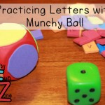 Fine Motor and Letters With Munchy Ball