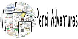 new button pencil adventures