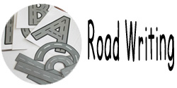 new button road writing