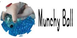 new button munchy ball