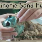 More Kinetic Sand Fun